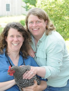 Farm Owners Laura and Mari