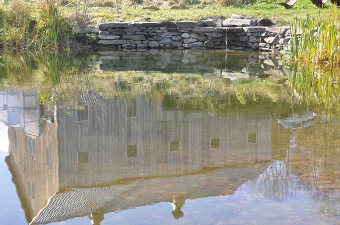 Barn Reflection in Our Pond