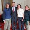 Farmers with Governor Shumlin at the Statehouse Press Conference