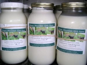 Our Goat Milk