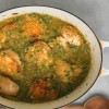 Tomatillo chicken from martha stewart