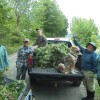 Chervil team...on truckload 3...of at least 5