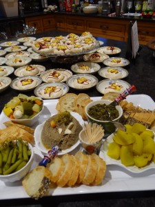 farm catering spread