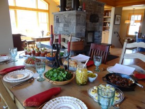 farmhouse inn table