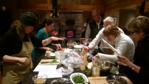 hands on cooking class