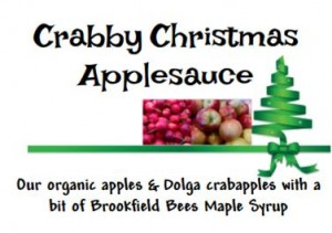 crabby christmas applesauce