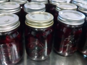 finished pickled beets