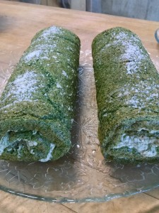 2 spinach roulades