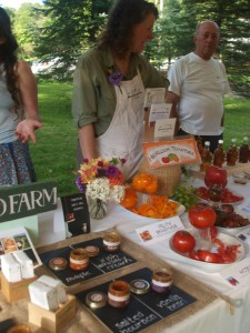 meet farmers heirloom tomatoes farm to table dinner