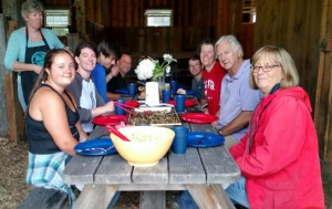 family support farmer lunch