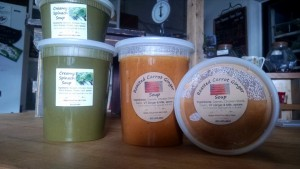 soups in farmstand