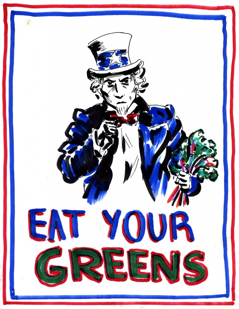 Eat Your Greens by Anna