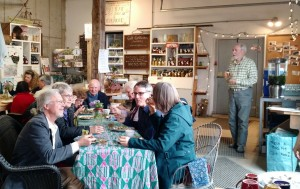 farm supper in farmstand